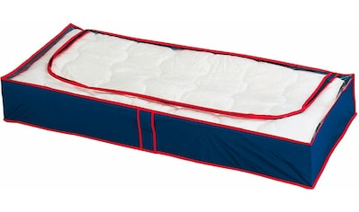 WENKO Unterbettkommode »Blau-Rot«, (Set, 8 St.), (atmungsaktiv) kaufen