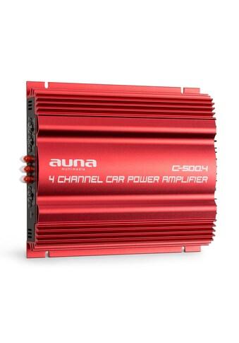Auna 4 - Kanal - Verstärker Auto - Endstufe 4x 65W RMS »C500.4« kaufen