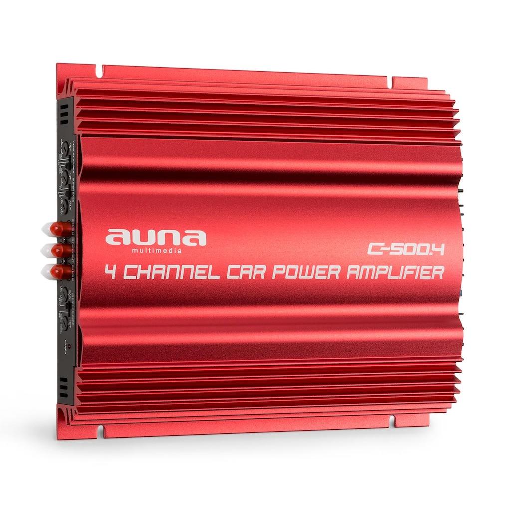 Auna 4-Kanal-Verstärker Auto-Endstufe 4x 65W RMS