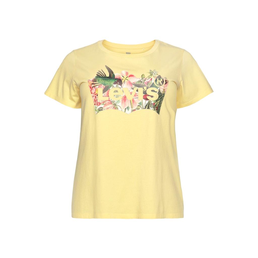 Levi's® Plus Print-Shirt »The perfect Tee«, mit tropischem Print