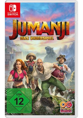 BANDAI NAMCO Spiel »Jumanji«, Nintendo Switch kaufen
