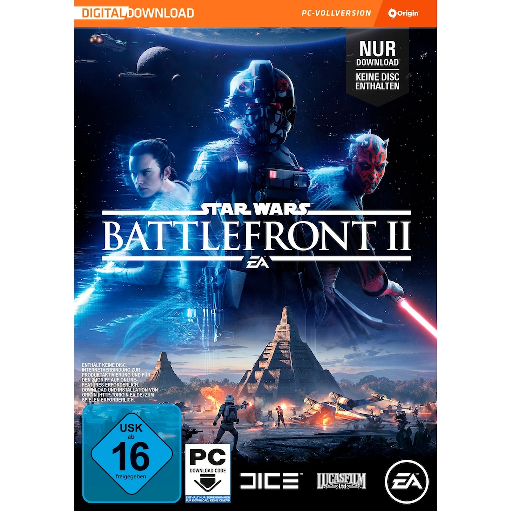 Electronic Arts Spiel »Star Wars Battlefront 2 (Code in the Box)«, PC, Software Pyramide