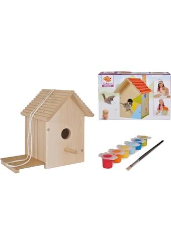 Eichhorn Kreativset »Eichhorn Outdoor, Vogelhaus«, (Set), Zum Zusammenbauen und Bemalen; Made in Europe kaufen