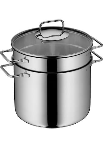 WMF Spaghettitopf, Cromargan® Edelstahl Rostfrei 18/10, (1 tlg.), mit Siebeinsatz, Ø... kaufen