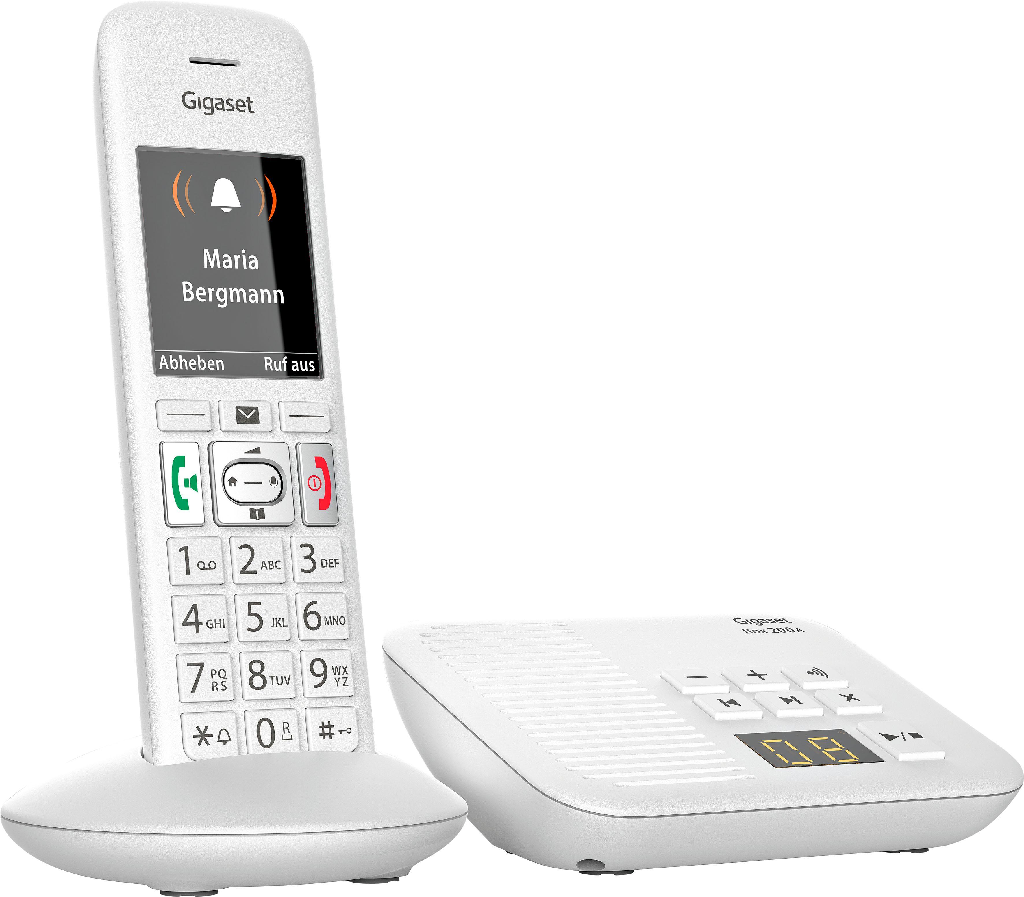 gigaset e370a schnurloses dect telefon mobilteile 1. Black Bedroom Furniture Sets. Home Design Ideas