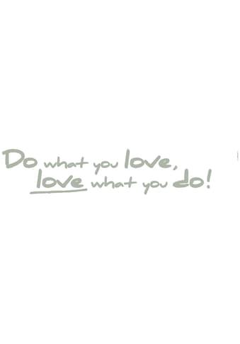KOMAR Packung: Wandtattoo »Do what you love«, 2 - teilig kaufen