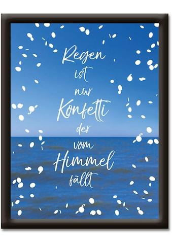 Artland Wandbild »Regen ist nur Konfetti« kaufen