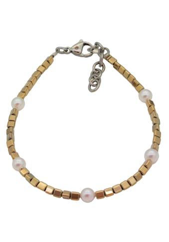 Firetti Armband »Dreiecke und Kugeln, glänzend«, mit Swarovski-Perlen und Hämatit,... kaufen