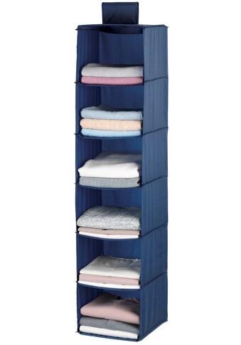 WENKO Wäschesortierer »Business«, 6 Fächer, widerstandsfähiger Polyester-Qualität kaufen