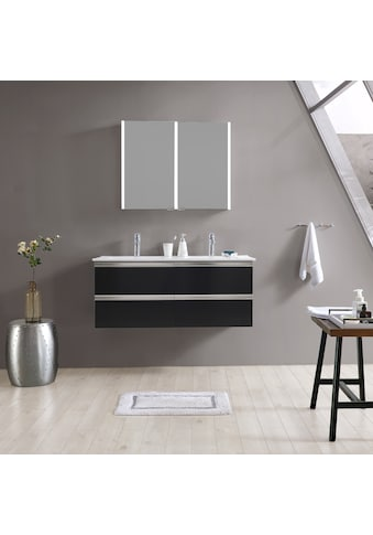 MAW Badezimmerspiegelschrank »A - SPS9070 LED - Spiegelschrank 2 - teilig«, 90x12x70 cm kaufen