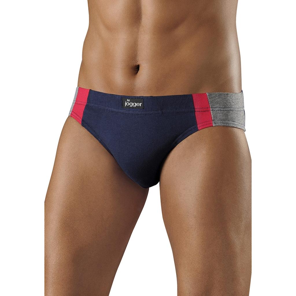 le jogger® Slip, (8 St.), optimale Passform durch Baumwoll-Stretch