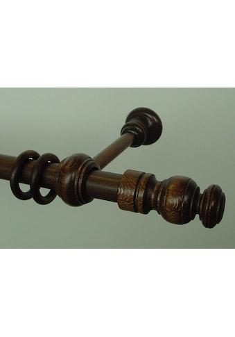 GARESA Gardinenstange »Nova«, 1 läufig-läufig, Wunschmaßlänge kaufen