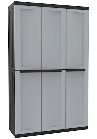 Kreher Mehrzweckschrank »C-twist«, B/T/H: 102x39x170 cm, 3 Türen, 3 Einlegböden kaufen