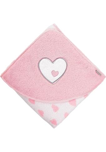 Sterntaler® Kapuzenhandtuch »Esel Emmi Girl«, (1 St.), mit Herz kaufen