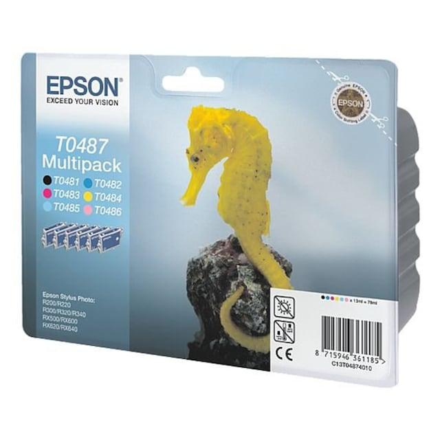 Epson 6er-Pack Tintenpatronen Nr. T048 »T0487«