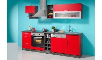 HELD MÖBEL Küchenzeile »Sevilla«, mit E - Geräten, Breite 250 cm kaufen