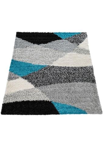 Hochflor - Teppich, »Mango 308«, Paco Home, rechteckig, Höhe 35 mm, maschinell gewebt kaufen
