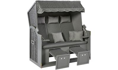KONIFERA Strandkorb »Sylt«, BxTxH: 150x72x150 cm, 3-Sitzer kaufen