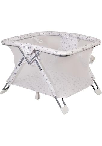 POLINI kids Laufgitter »Sterne weiß-grau, 88x105x75 cm«, bis 18 kg kaufen