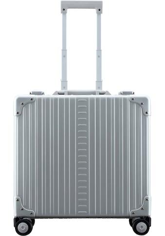 ALEON Pilotenkoffer »Aluminiumkoffer Deluxe Business Case, 44 cm«, 4 Rollen, inkl. Kabeltasche und Schutzhülle kaufen