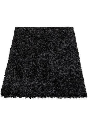 Paco Home Hochflor-Teppich »Fluffy 420«, rechteckig, 75 mm Höhe, Hochflor-Shaggy,... kaufen