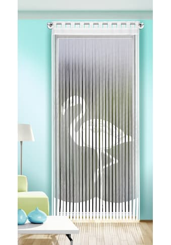 Fadenvorhang, »Flamingo«, , Stangendurchzug 1 Stück kaufen