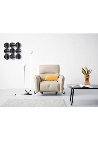 Domicil Sessel »CINNAMON«, inklusive verstellbarer Kopfstützen, wahlweise mit oder... kaufen