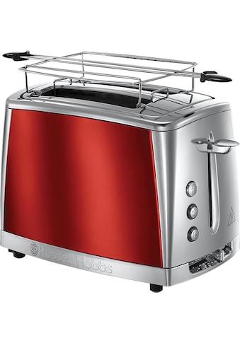 RUSSELL HOBBS Toaster »Luna Solar Red 23221-56«, 2 kurze Schlitze, für 2 Scheiben, 1550 W kaufen