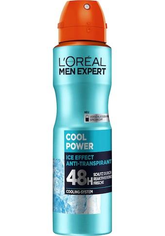 """L'ORÉAL PARIS MEN EXPERT Deo - Spray """"Cool Power"""" kaufen"""