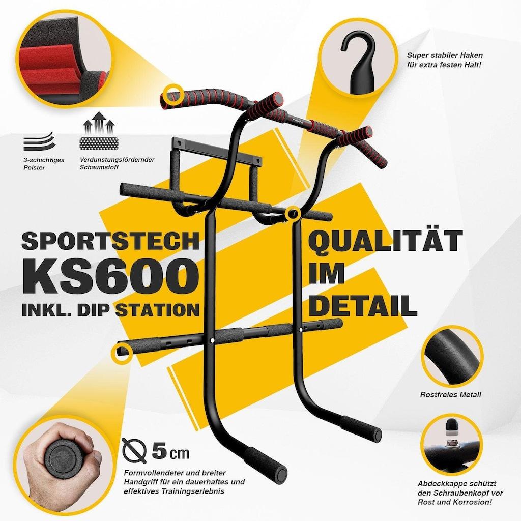 Sportstech Türreck »KS600«, (Set, mit Trainingsplan)