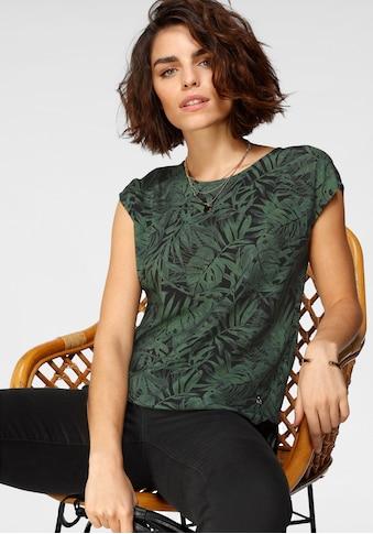 Tamaris Shirtbluse, mit abgerundetem Saum - NEUE KOLLEKTION kaufen
