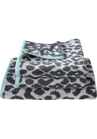 Dyckhoff Handtuch Set »Cool Mint Leo«, mit Leoparden-Muster kaufen