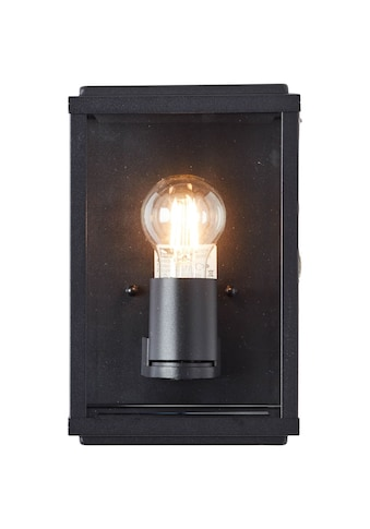 Brilliant Leuchten Außen-Wandleuchte »Gaia«, E27, 1 St., Außenwandlampe schwarz kaufen