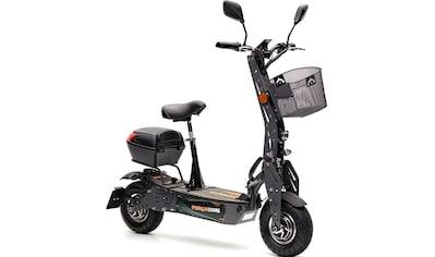 Forca E-Scooter »Evoking Duo Safety Plus 45 km/h (inkl. Blinker + Gepäck-Case +... kaufen