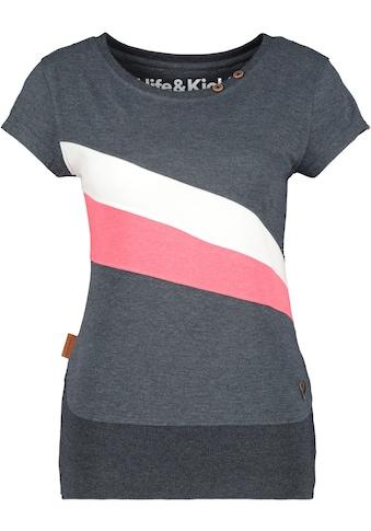 Alife & Kickin T-Shirt »CleaAK«, sportives Shirt mit Kontrastdetails kaufen