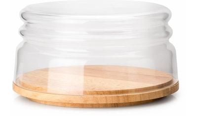 Continenta Käseglocke, mit Holzteller kaufen