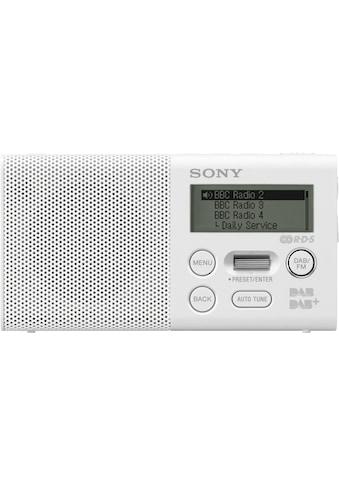 Sony Digitalradio (DAB+) »XDR-P1DBP«, (Digitalradio (DAB+)-FM-Tuner 1,5 W) kaufen