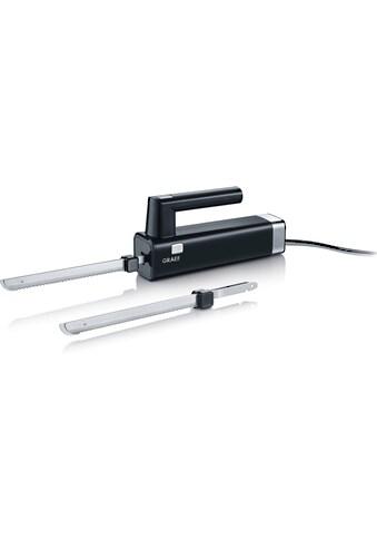 Graef Elektromesser EK 502 mit 2 Messern, schwarz, 150 Watt kaufen