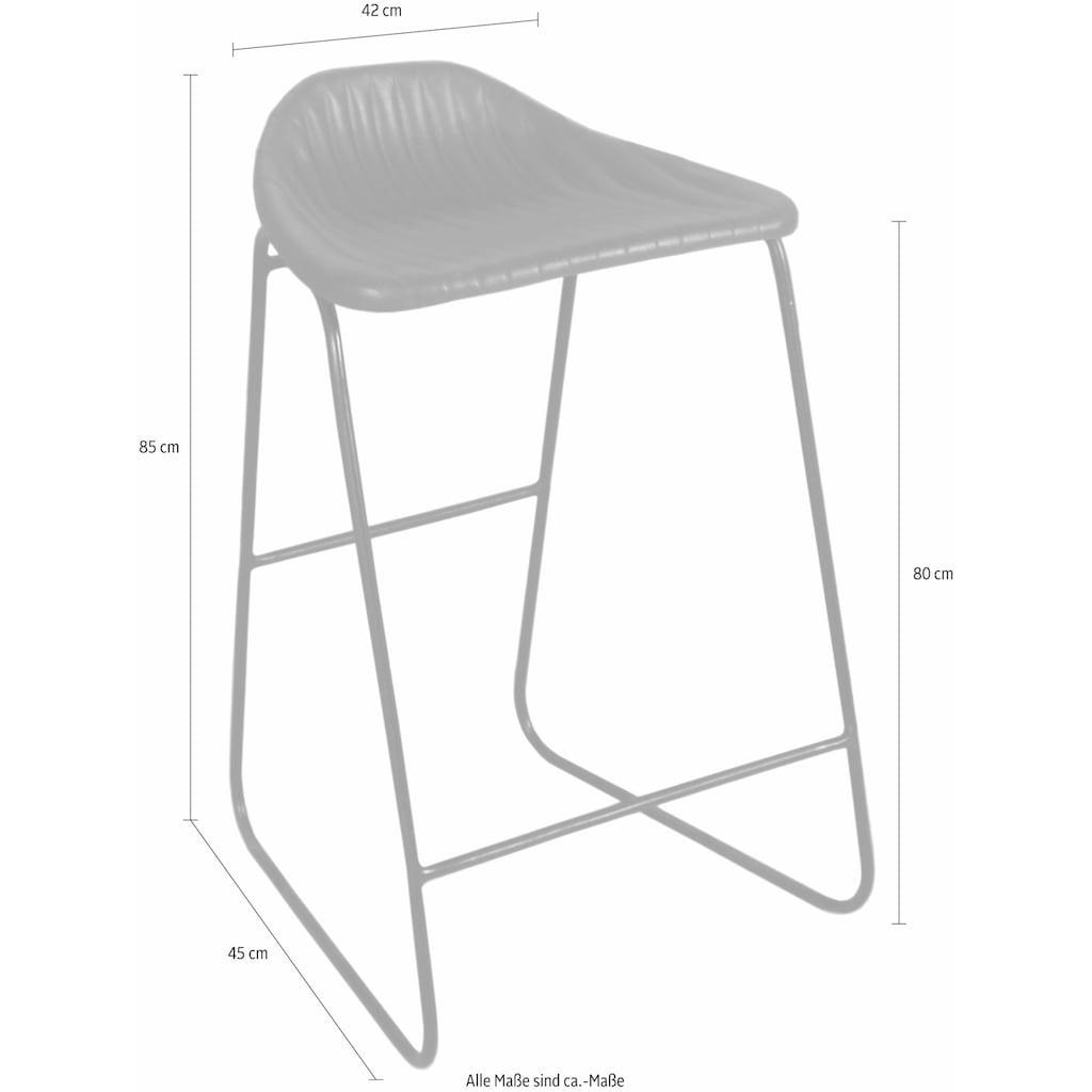 SIT Barhocker »4759«, mit moderner Sitzschale und Kufengestell