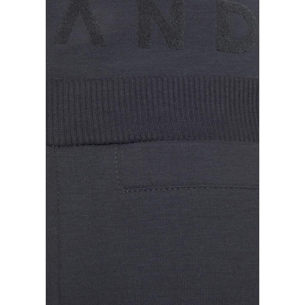 Elbsand Sweathose »Brinja«, mit Logoprint am Bund