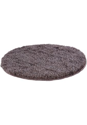 Hochflor - Teppich, »EMOTION«, Barbara Becker, rund, Höhe 40 mm, handgetuftet kaufen