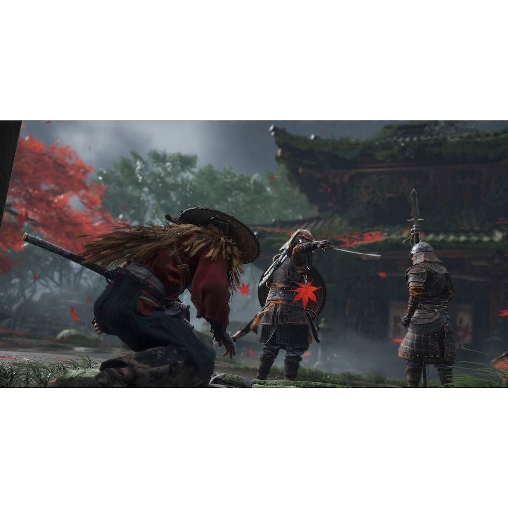 PlayStation 4 Konsolen-Set »Pro«, generalüberholt + Ghost of Tsushima