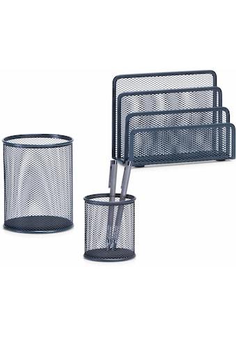 Zeller Present Allzweckkorb, (3-tlg.) Briefbox, Bleistiftbecher, Utensilienbecher kaufen