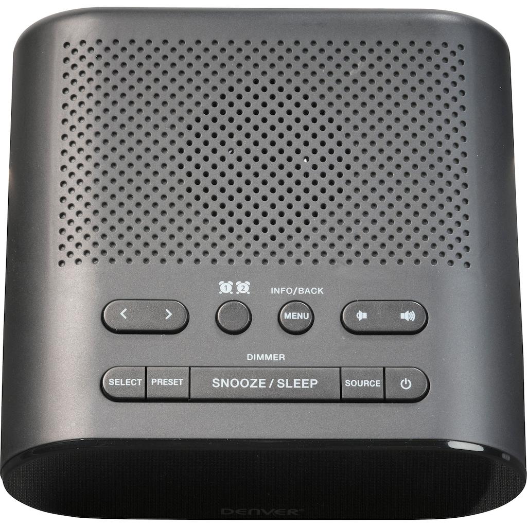 Denver Uhrenradio »CRD-505«, ( Digitalradio (DAB+)-FM-Tuner )