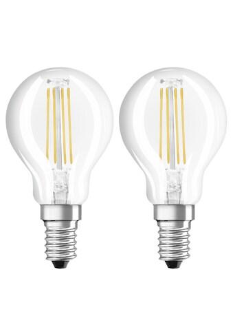 Xavax LED - Filament, E14, 470lm ersetzt 40W, Tropfenform, Warmweiß »LED - Lampe 230V, 2 Stück« kaufen