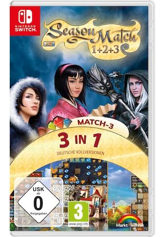 Markt+Technik Spiel »3In1 Match-3«, Nintendo Switch kaufen