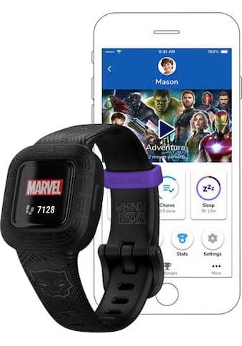 Garmin vívofit® jr. 3 Black Panther Smartwatch (2 cm / 0,78 Zoll, Proprietär) kaufen