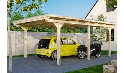 Skanholz Einzelcarport »Emsland«, Holz, 341 cm, natur, versch. Farben kaufen