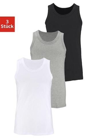 H.I.S Unterhemd, (3 St.), aus Baumwolle kaufen