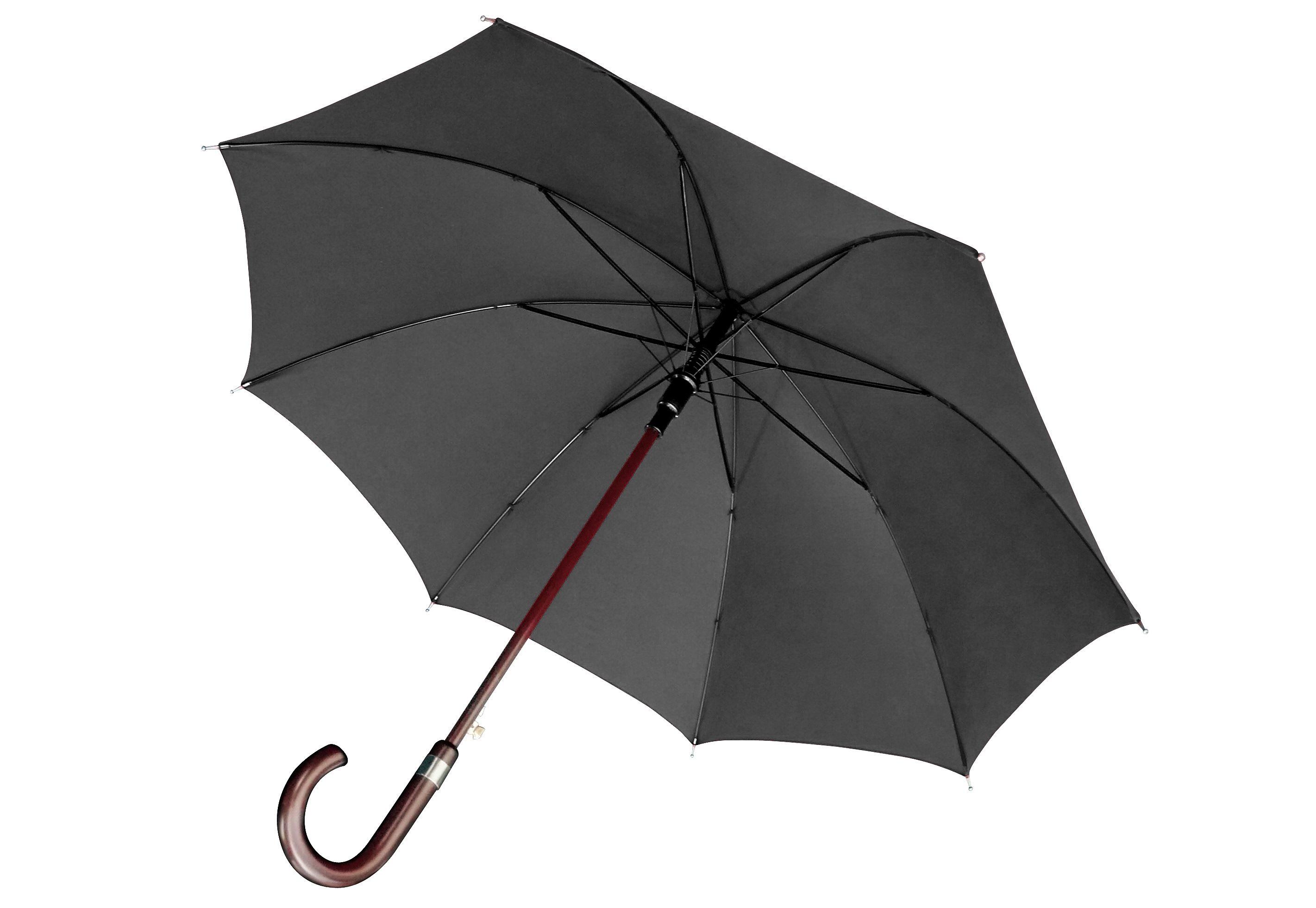 Euroschirm, Stockregenschirm ´´Stockschirm´´ | Accessoires > Regenschirme | Schwarz | Polyamid | EUROSCHIRM®